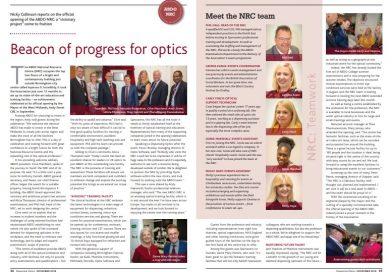 NRC featured in Dispensing Optics