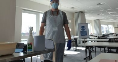 New NRC cleaning protocols in action